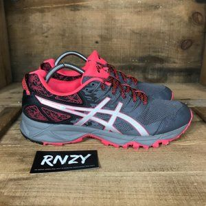 Asics Gel Sonoma 3 Grey Pink Athletic Running Shoe